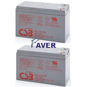 2szt akumulatorów  o żywotności 10lat zamienniki do pakietu RBC33 172,8Whr