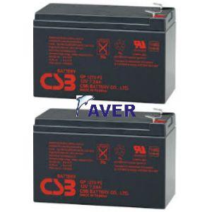 Eaton Powerware 05146035-5-5501 Pakiet baterii 2szt akumulatorów 5lat 86,4 WHr