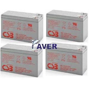 SC1500I DLA1500RMI2U Pakiet baterii 4szt akumulatorów 10lat 432Whr