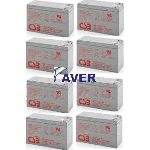 SU3000RM3U SU3000RMI3U SU3000RMT3U Pakiet baterii 8szt akumulatorów 10lat HRL 872WHr