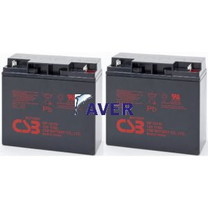 TBC103 Pakiet baterii 2szt akumulatorów 408Whr 5lat do Eaton NetUPS 1500, NetUPS SE 1500, NetUPS SE 1500