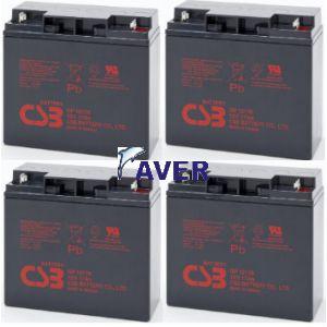 Eaton Powerware PW5119-2400VA PW5119-3000VA Pakiet baterii 4szt akumulatorów 816Whr 5lat