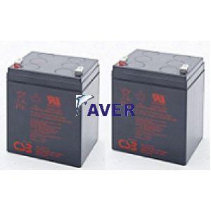 Zamiennik  2szt akumulatorów  do UPS Eco Pro 700 CDS Rack 19 2U