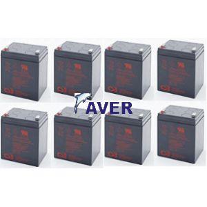 DLA2200RM2U Pakiet baterii 8szt akumulatorów 5lat CSB
