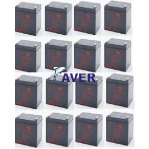 AVR21.15 Pakiet baterii 15szt akumulatorów  918Whr CSB-Hitachi 5lat  do UPS