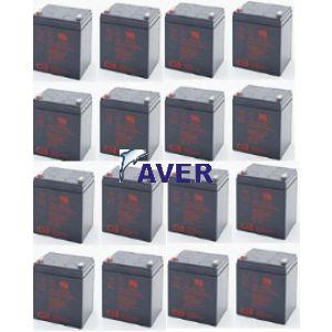 APC SURTD2200XLIM 16szt akumulatorów  979,2Whr 5lat