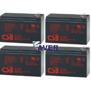 APC Smart UPS SU1400RM, Smart UPS SU1400RMNET, Smart UPS SU1400RMBX120, Smart UPS SU1400RMX176, Smart UPS SU1400RMX93 Pakiet baterii 4szt akumulatorów 5lat 345,60WHr