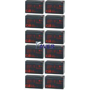 Eaton Powerware 103002836-6591 Pakiet baterii 1037Whr 12szt akumulatorów 5lat
