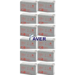 12-pak xtv12l Pakiet 12 szt akumulatorów 1037WHr