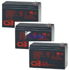 Eaton Powerware PW9120-1000 Pakiet baterii 3szt akumulatorów 259.2Whr 5lat