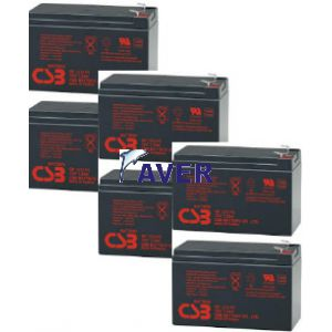 Mep -2000 ONLINE LCD  akumulatory wymienne 6 x GP518,4Whr 12V