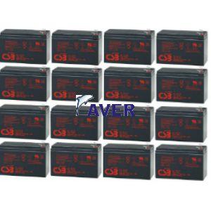 Eaton Powerware 9120 BATT 3000 EBM Pakiet baterii 16szt akumulatorów 5lat 1382Whr
