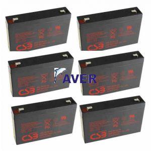 HP R1500-G2  R1500-G3 Pakiet  6szt akumulatorów 5lat  432WHr