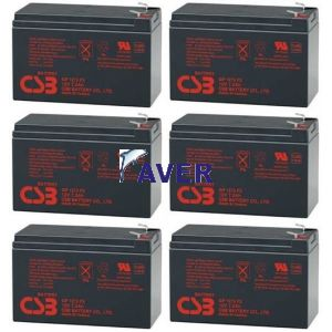 Eaton Powerware 9120-Batt1000 Pakiet baterii 6szt akumulatorów 5lat 518,4Whr