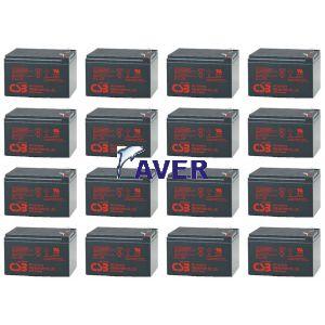 PowerMust 6048 Online Pakiet 16szt akumulatorów 5lat 1728 WHr