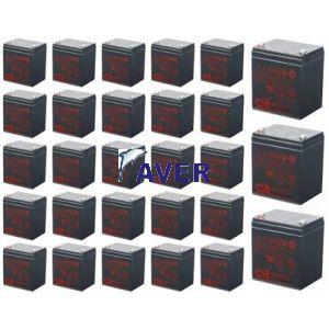HP Compaq R6000 Pakiet baterii 28szt akumulatorów  5lat 1714Whr