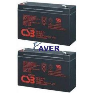RBC 3 APC RBC3 Pakiet 2szt akumulatorów 5lat  12 Ah 6 V