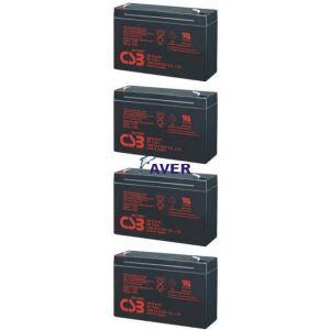 T1000  T1000H Pakiet baterii do UPS HP  4szt akumulatorów 5lat  288WHr