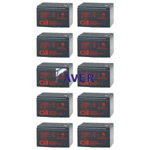 Eaton Powerware PW9125-6000 Pakiet baterii 10 szt akumulatorów 3-5lat 1020WHr