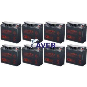 SUA48XLBP Pakiet baterii 8szt akumulatorów CSB 1632Whr 5lat