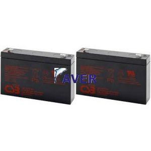 APC PS250 PS250I SC250RMI1U Pakiet baterii 2szt akumulatorów 108WHr 6V