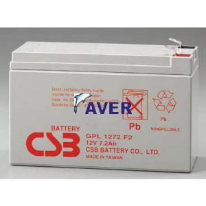 Akumulator   7,2Ah 12,0V GPL 1272F2 CSB 10lat