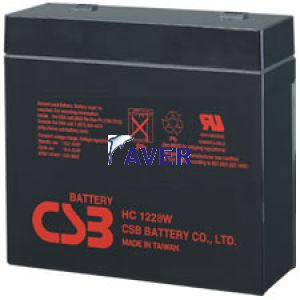 Akumulator   8,1Ah 12,0V HC 1228W CSB