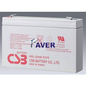 Akumulator do RBC18 HRL  CSB 9Ah 6V